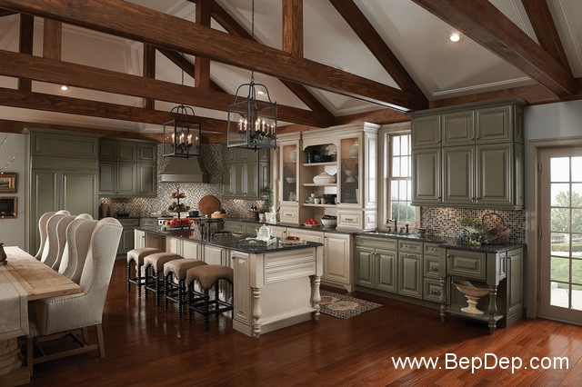 traditional-kitchen-cabinets 2