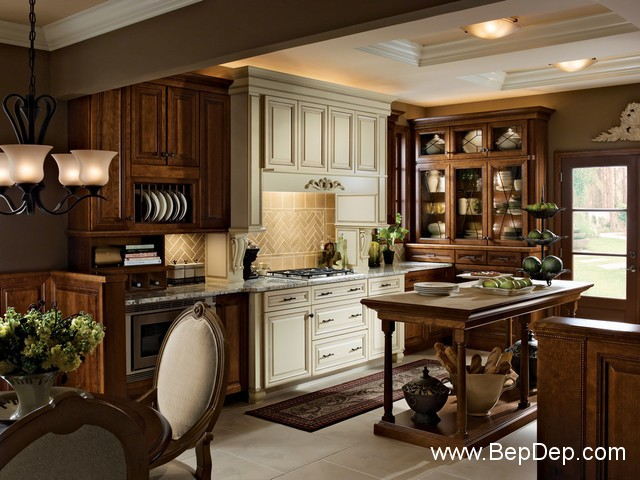 traditional-kitchen-cabinets 9