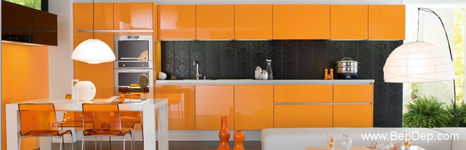 impressive-orange-kitchen-cabinet