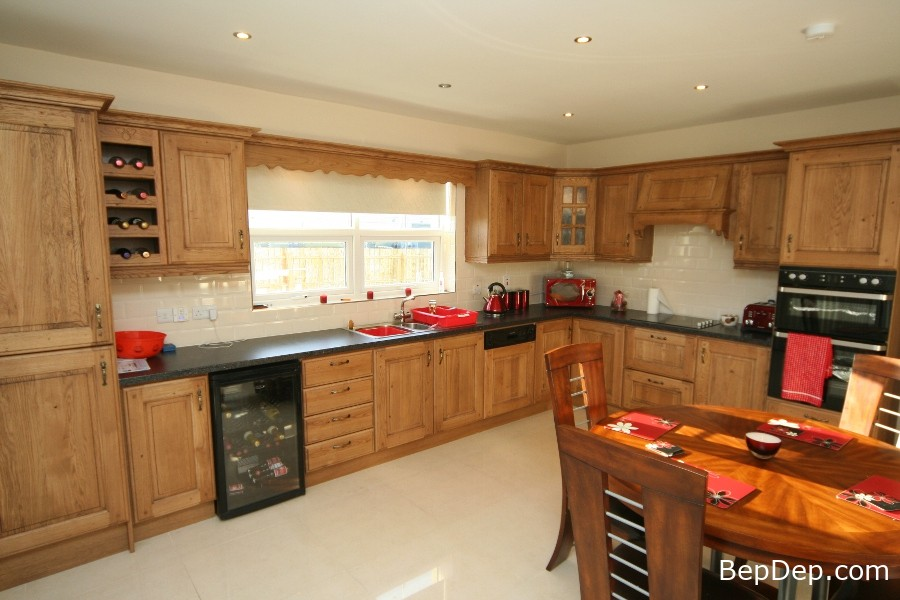Modern-Oak-Kitchens-Cabinet