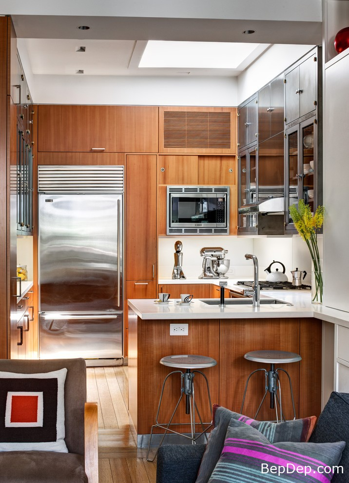 Tropical-Small-Kitchen-Design