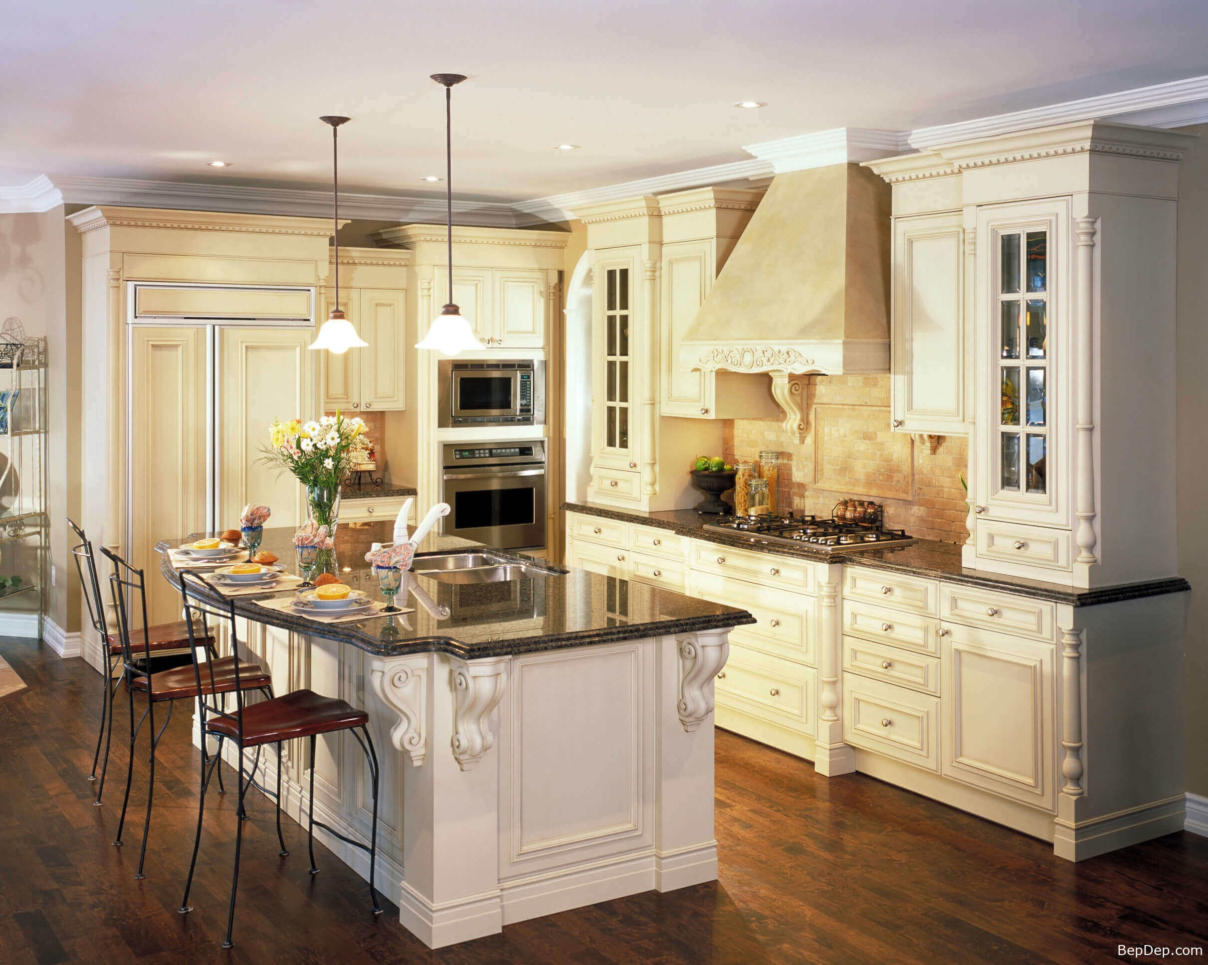 contemporary-pendant-lighting-for-kitchen