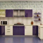 Modular Kitchen Cheap And Best Color Combination Modular Kitchen Designs: 4 Ways To Go Glossy - Homelane  - Home Combo